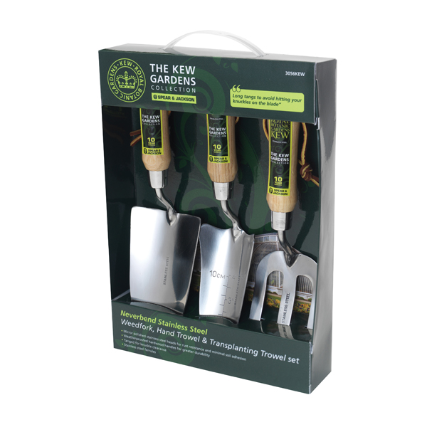 Kew Garden Stainless Steel 3 Piece Gift Set No Colour