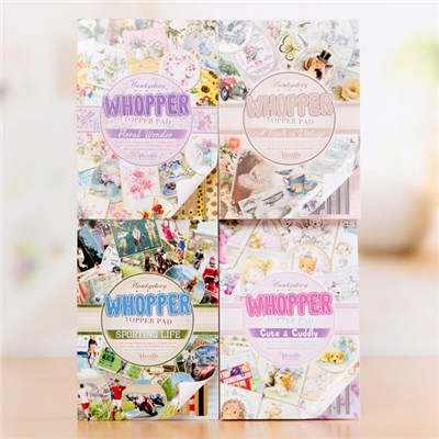 Hunkydory Whopper Topper Pads - Includes 4 Topper Pads