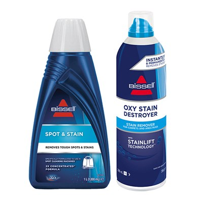 Bissell SpotClean Spot and Stain Double Concentrate Formula with Oxy Stain Destroyer Pre-Treat Spray