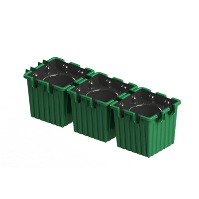 Pack of 3 Oasesboxes - Automatic Watering Planters