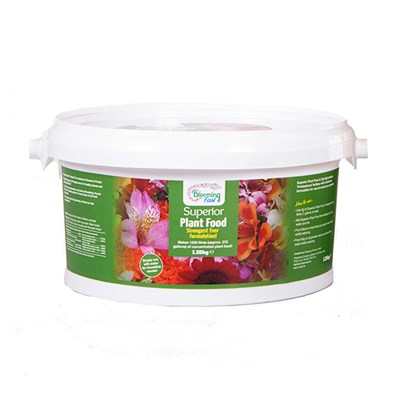 Blooming Fast Superior Soluble Fertiliser 1.25kg Tub
