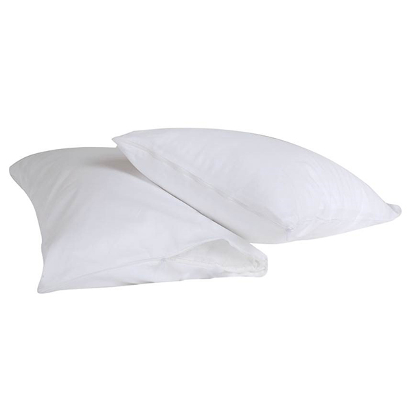 Downland Zipped Pillow Protector Pair No Colour
