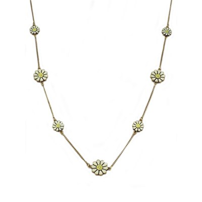 Long Daisy Necklace