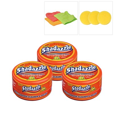 3 Shadazzle Natural Cleaner and Polish w