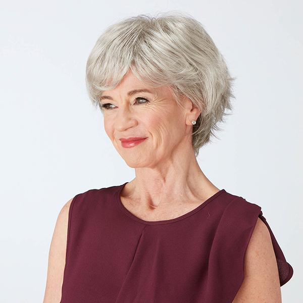 Gracious Wig by Natural Image Sugared Silver