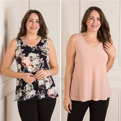 Nicole 2 Pack Cami Tops
