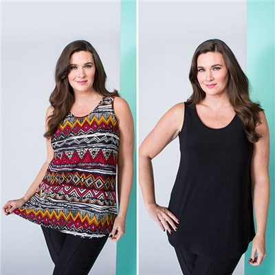 Nicole Cami Tops (2 Pack)