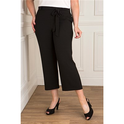 Must Crepe Crop Trouser