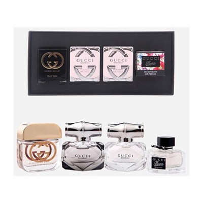 Gucci Miniature Set 4 x 5ml