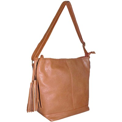 Hobo Bag with Tassel Detail