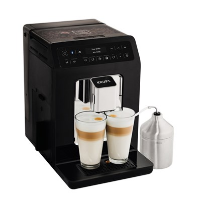 KRUPS Evidence Connected Bean to Cup Machine Black EA893840
