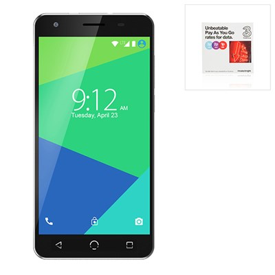 NUU N5L 5.5inch Screen, Android Smartphone with, 8MP Camera and 4G with FREE Three SIM