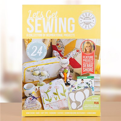 Lets Get Sewing Project Book Issue 2