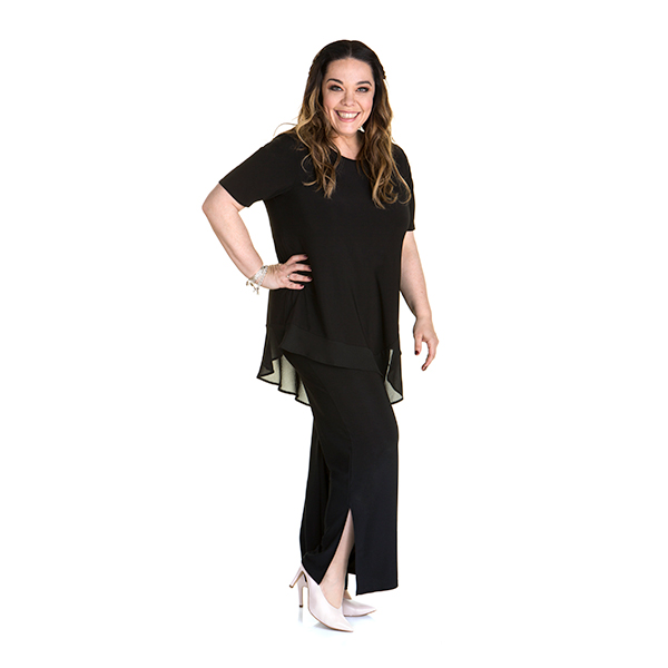 10% off Just Be You Side Split Palazzo Trouser