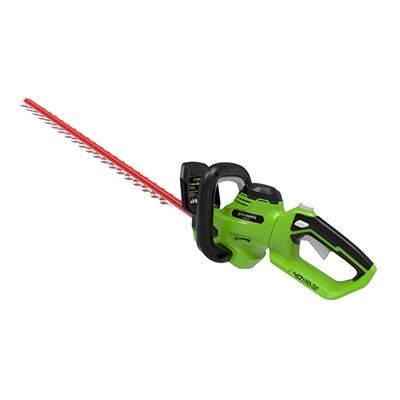 Greenworks 40v 61cm Cordless Hedge Trimmer (Battery Not Included)