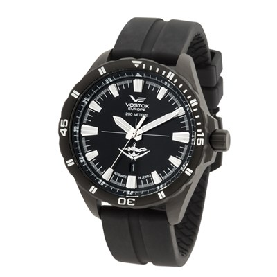 Vostok Europe Gent's Automatic Special Edition (to 100pcs) Underwater Demolition Almaz Watch with Interchangeable Strap and Dry Box