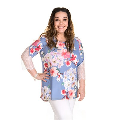 Just Be You Print Tunic