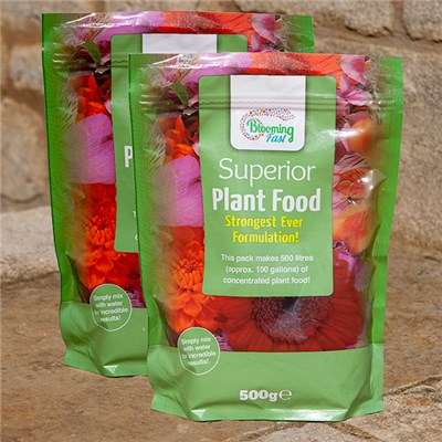 Blooming Fast 500g Fertiliser (Twin Pack)