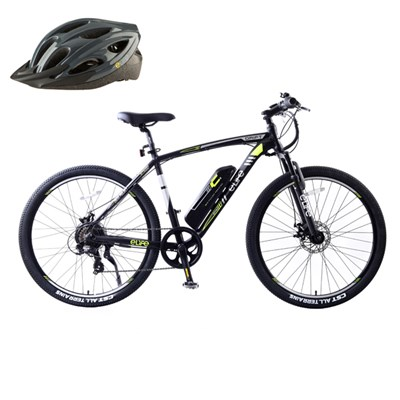 Elife Drift 7sp 36v 250w Hybrid Electric Bike with 27.5inch Wheel Plus FREE Elife Helmet