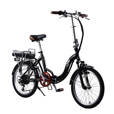 eLife Explorer Plus 36v 250w Electric Folding Bike with 20inch Whee