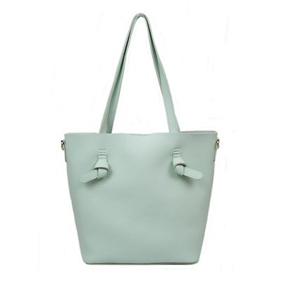 Large Shopper Bag with Knot Detail