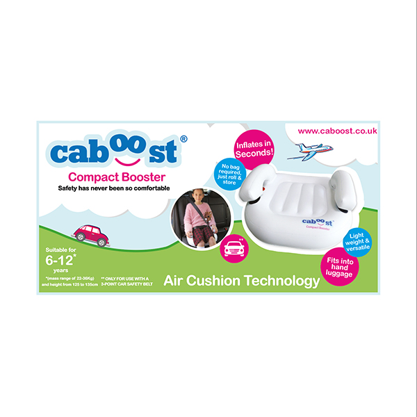 Caboost Inflatable Booster Seat No Colour