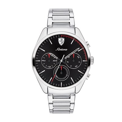 Scuderia Ferrari Gents Abetone Watch with Stainless Steel Bracelet
