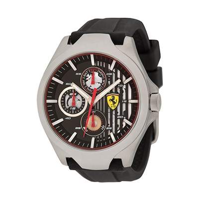 Scuderia Ferrari Gents Aero Watch with Silicone Strap
