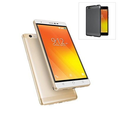 NUU M3 5.5inch Smartphone with 4G, 16GB, 2GB Dual SIM and 8MP Rear Camera and Protective Case