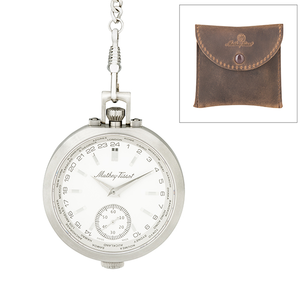 Mathey-Tissot Gent's Limited Edition Pocket Watch White