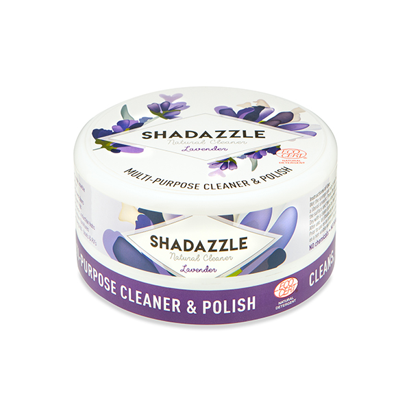 Shadazzle Natural Cleaner and Polish - Lavender No Colour