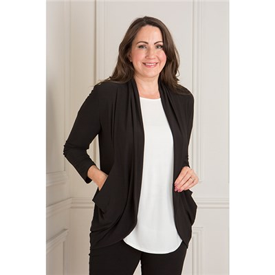 Nicole Drape Pocket Cardigan
