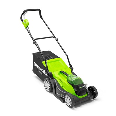 Greenworks 40V Cordless 35cm Lawnmower (Tool Only)