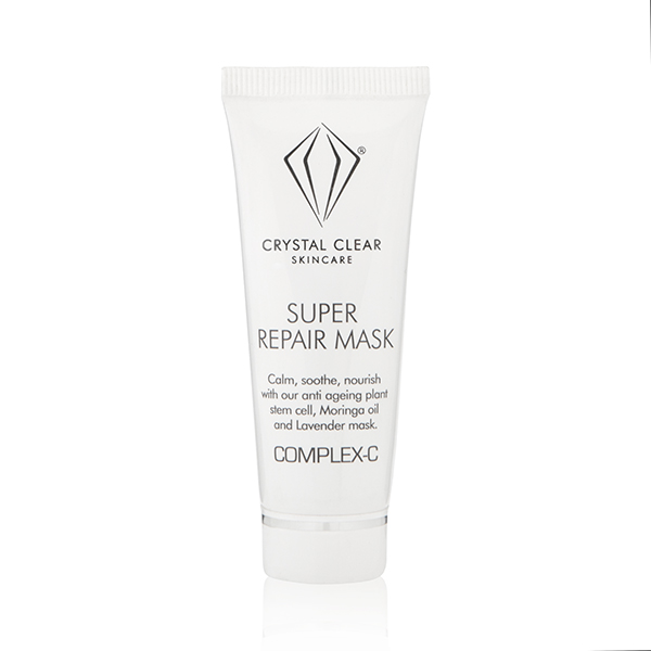Crystal Clear Super Repair Mask 25ml No Colour
