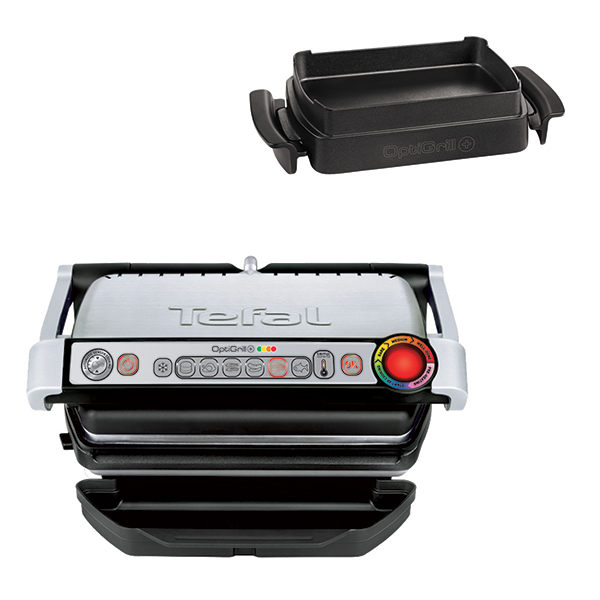 Tefal Optigrill Plus with Optigrill Bake Tray No Colour