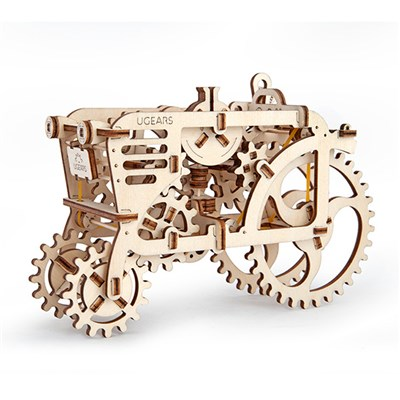 UGears Mechanical Design Tractor