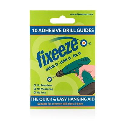 Fixeeze 10 Adhesive Drill Guides