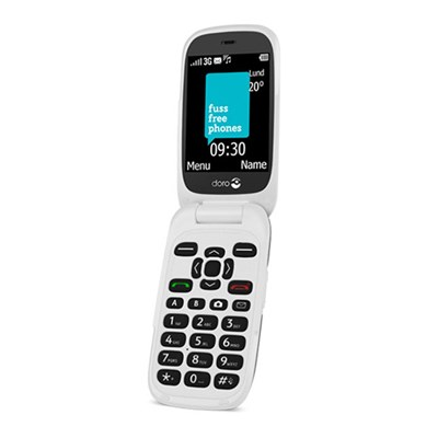 Doro 6520 plus Easy Charge Dock, with 3 Months of Fuss Free Assisted Phone Service