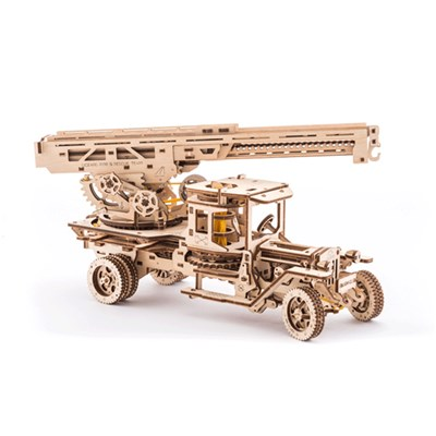 UGears Mechanical Design FireTruck