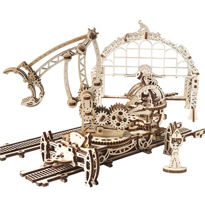UGears Mechanical Design Rail Manipulator
