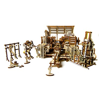 UGears Mechanical Design Robot Factory