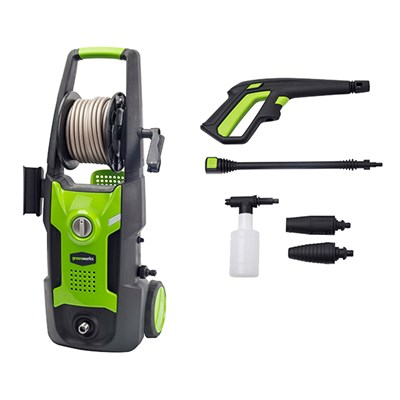 Greenworks G4 130bar Mobile Garden Pressure Washer