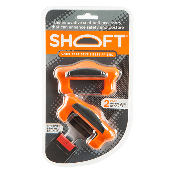 Shoft 2 Pack Seat Belt Enhancer No Colour