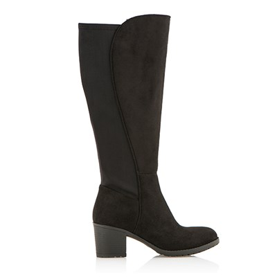 Cushion Walk Suedette Tall Stretch Calf Boot
