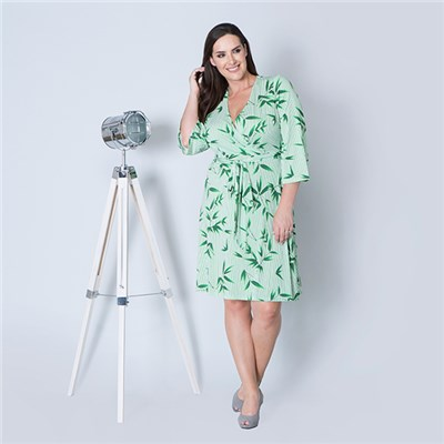 Must Print Wrap Dress