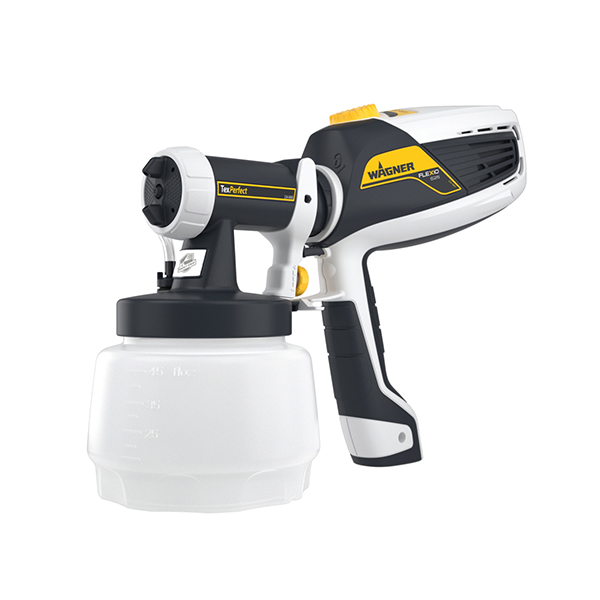 Wagner W525 FLEXiO Universal Sprayer & 1300ml Texperfect No Colour