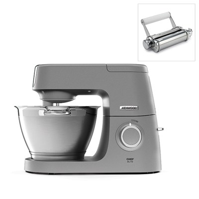 Kenwood Chef Elite Stand Mixer With Free Pasta Roller Attachment