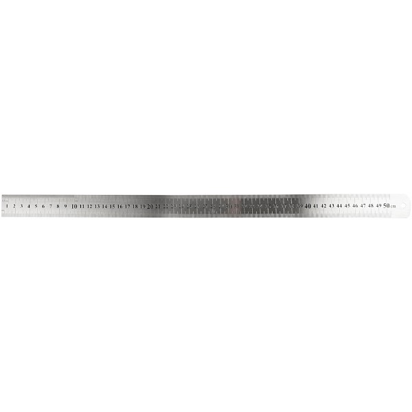 Creativ Steel Ruler, 50cm No Colour