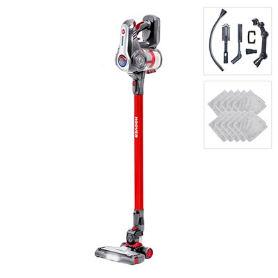 Hoover Discovery Red Cordless Vacuum with Household Cleaning Accessory Pack