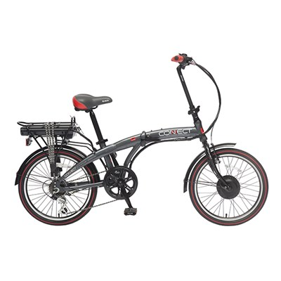 Coyote Connect 6sp 24v 250w Electric Folding Bike with 20inch Wheel
